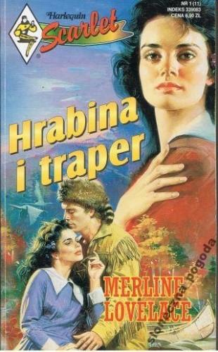 Okładka książki Hrabina i traper Merline Lovelace