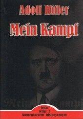 Okładka książki Mein Kampf Adolf Hitler