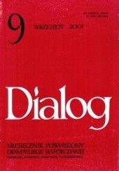Okładka książki Dialog, nr 9 (538) / wrzesień 2001