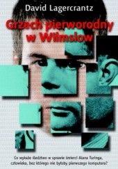 Okładka książki Grzech pierworodny w Wilmslow David Lagercrantz