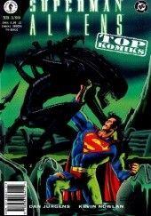 Okładka książki Superman vs Aliens