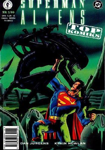 Okładka książki Superman vs Aliens Dan Jurgens,Kevin Nowlan