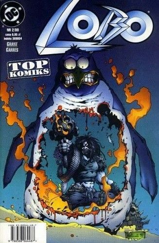 Okładka książki Lobo: P...P...P...Pingwin Alan Grant