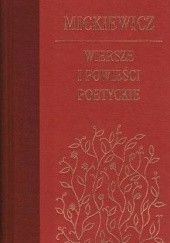 Okładka książki Wiersze i powieści poetyckie Adam Mickiewicz