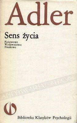 Okładka książki Sens życia Alfred Adler