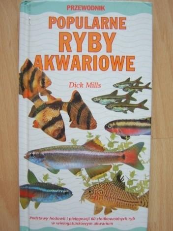 Okładka książki Popularne ryby akwariowe Dick Mills