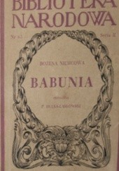 Okładka książki Babunia Božena Němcová