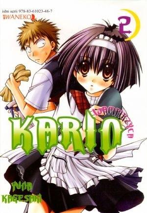 Okładka książki Wampirzyca Karin #2 Yuna Kagesaki