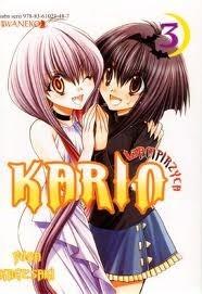 Okładka książki Wampirzyca Karin #3 Yuna Kagesaki