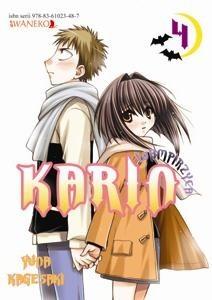 Okładka książki Wampirzyca Karin #4 Yuna Kagesaki