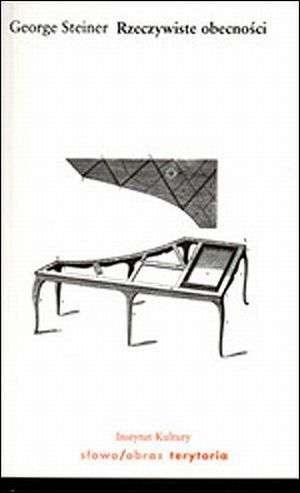 Okładka książki Rzeczywiste obecności George Steiner