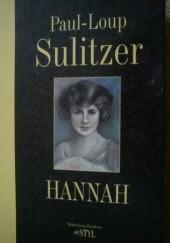 Okładka książki Hannah Paul-Loup Sulitzer