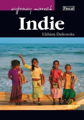 Okładka książki Indie Elżbieta Dzikowska