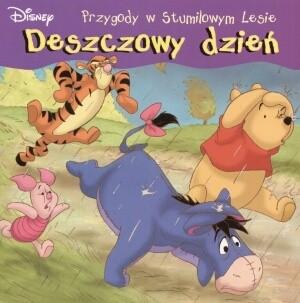 Okładka książki Kubuś Puchatek. Deszczowy dzień Walt Disney