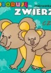 Okładka książki Koloruję zwierzęta 4 /Malowanka z naklejkami Bogusław Michalec