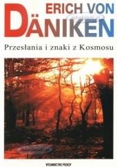 Okładka książki Przesłania i znaki z kosmosu Erich von Däniken