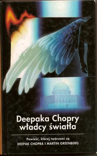 Okładka książki Deepaka Chopry Władcy Światła Deepak Chopra,Martin H. Greenberg