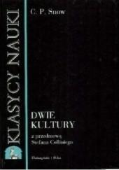 Okładka książki Dwie kultury Charles Percy Snow