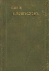 Okładka książki Dzieje elektryczności Walter Jewold