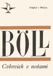 Okładka książki Człowiek z nożami Heinrich Böll