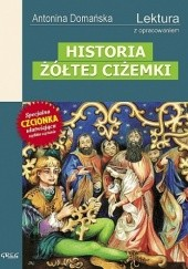 Okładka książki Historia żółtej ciżemki Antonina Domańska