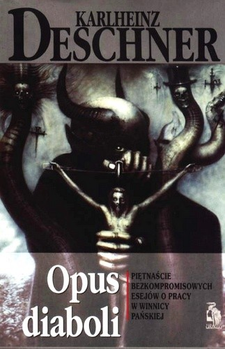 Okładka książki Opus Diaboli Karlheinz Deschner