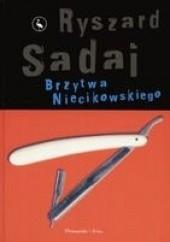 Okładka książki Brzytwa Niecikowskiego Ryszard Sadaj