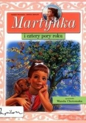 Okładka książki Martynka i cztery pory roku Gilbert Delahaye