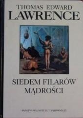 Okładka książki Siedem filarów mądrości Thomas Edward Lawrence