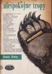 Okładka książki Niespokojne tropy