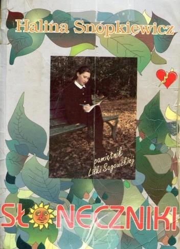 Okładka książki Słoneczniki Halina Snopkiewicz