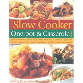 Okładka książki Best-Ever Slow Cooker, One-Pot & Casserole Cookbook Catherine Atkinson,Jenni Fleetwood