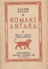 Okładka książki Romans Antara. Według starych źródeł arabskich