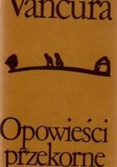 Okładka książki Opowieści przekorne Vladislav Vančura