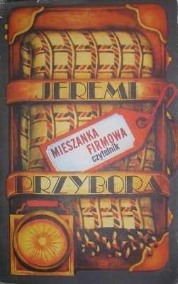 Okładka książki Mieszanka firmowa Jeremi Przybora