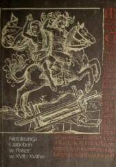 Okładka książki Nietolerancja i zabobon w Polsce w XVII i XVIII wieku Bohdan Baranowski