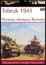 Okładka książki Tobruk 1941. Pierwsza ofensywa Rommla Jon Latimer