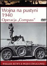 Okładka książki Wojna na pustyni 1940. Operacja Compass Jon Latimer