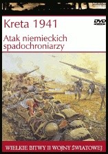 Okładka książki Kreta 1941. Atak niemieckich spadochroniarzy Peter D. Antill