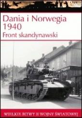 Okładka książki Dania i Norwegia 1940. Front skandynawski
