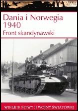 Okładka książki Dania i Norwegia 1940. Front skandynawski Douglas C. Dildy