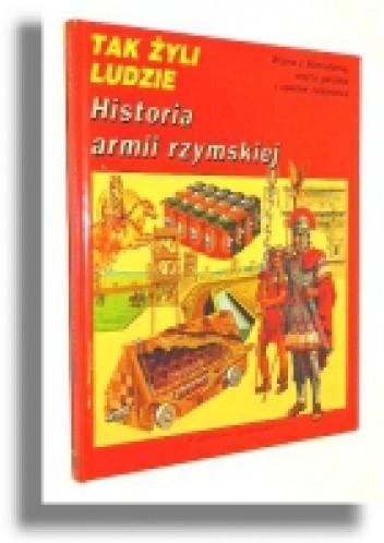 Okładka książki Historia armii rzymskiej Peter Connolly