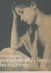 Okładka książki Poradnik dla chorych na migrenę