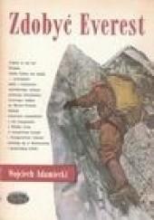 Okładka książki Zdobyć Everest Wojciech Adamiecki