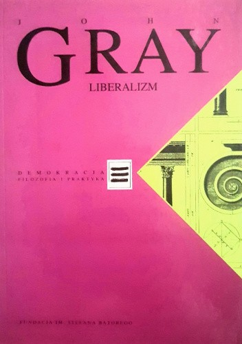 Okładka książki Liberalizm John N. Gray