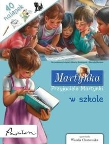 Okładka książki Przyjaciele Martynki w szkole Gilbert Delahaye