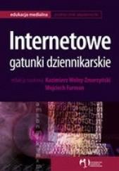Okładka książki Internetowe Gatunki Dziennikarskie Kazimierz Wolny-Zmorzyński