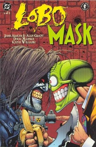 Okładka książki Lobo / Maska John Arcudi,Alan Grant,Doug Mahnke,Keith Williams