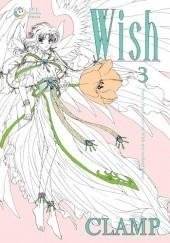 Okładka książki Wish tom 3 Nanase Ohkawa,Mokona Apapa,Tsubaki Nekoi,Satsuki Igarashi