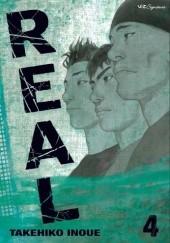 Okładka książki Real vol. 4 Takehiko Inoue